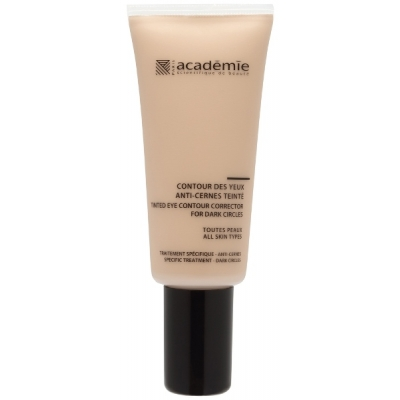 Academie Beaute Contour Des Yeux Anti-Cernes Teinte - Tinted Eye Contour Corrector For Dark Circles