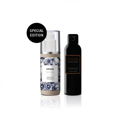 Cenzaa Handcare Set Mellow Bamboo 150ml Special Edition