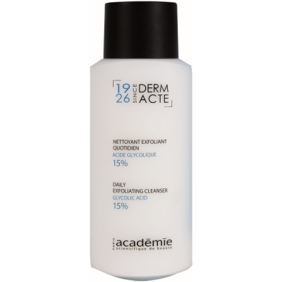 Academie Beaute Nettoyant Exfoliant Quotidien Acide Glycolique 15 - Daily Exfoliating Cleanser Glycolic Acid 15