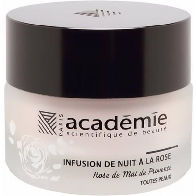 Academie Beaute Infusion De Nuit A La Rose - Night Infusion Rose Cream