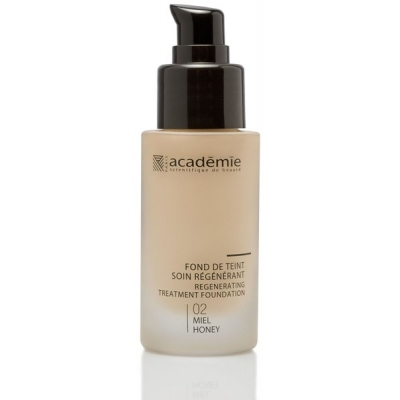 Academie Beaute Fond De Teint Soin Régénérant Miel 02 - Regenerating Treatment Foundation Honey Shade