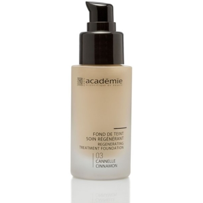 Academie Beaute Fond De Teint Soin Régénérant Cannelle 03 - Regenerating Treatment Foundation Cinnamon Shade