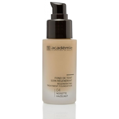 Academie Beaute Fond De Teint Soin Régénérant Noisette 04 - Regenerating Treatment Foundation Hazelnut Shade
