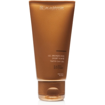 Academie Beaute Gel Bronzécran Sport Teinté SPF6 Faible Protection - Tinted Day Gel