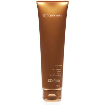 Academie Beaute Lait Solaire Corps SPF30 Haute Protection - Body Sunscreen Milk High Protection