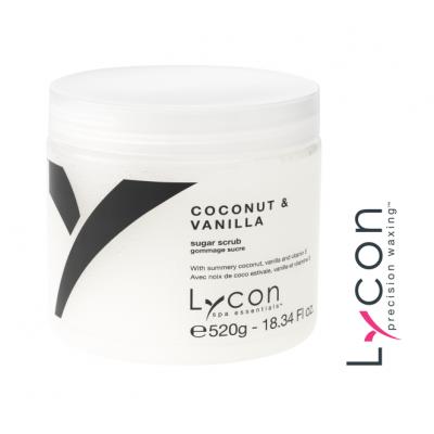 Lycon Coconut Vanilla Sugar Scrub 520gr